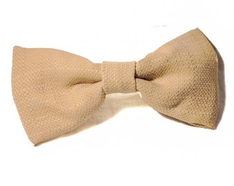 Giant Beige Bow