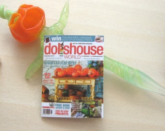 dollhouse halloween magazine modern dollhouse 12th scale miniature