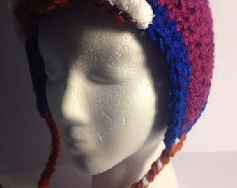 Frozen : Anna Inspired Crochet Hat