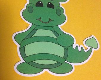 Cute Dragon Die Cuts Qty: 6