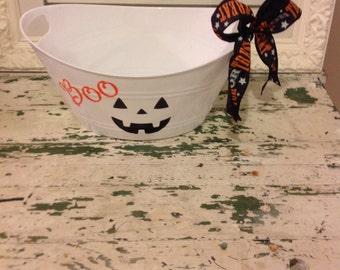 Halloween tub