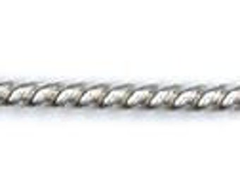 Twist Wire, 925 Sterling Silver, 14k Gold Filled, Choice of Gauge, Wire, Findings, Supplies