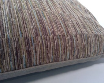 retro chenille decorative pillow