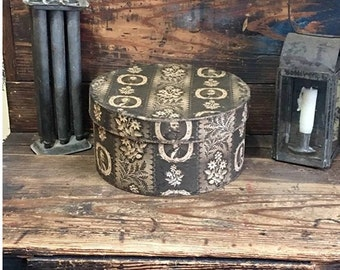 Reproduction Civil War Fabric Box