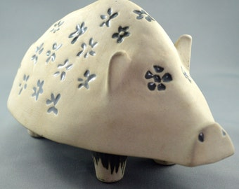 Vintage Piggy Bank - Bennington Pottery Vermont