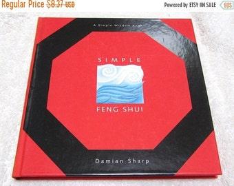 Simple Feng Shui, Damian Sharp, like new, used, 40% OFF, metaphysical tool, reiki, wicca, overview, way to prosperity, well being