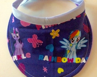 My Little Pony Baby Bib