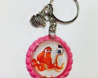 Hank and Dory Bottlecap Pin Back Button/Keychain/bracelet/Necklace/Retractable Badge Reel Disney