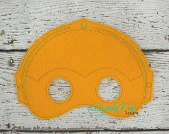 ITH Children's C3PO Mask