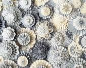 QUANTITY handmade paper snowflakes