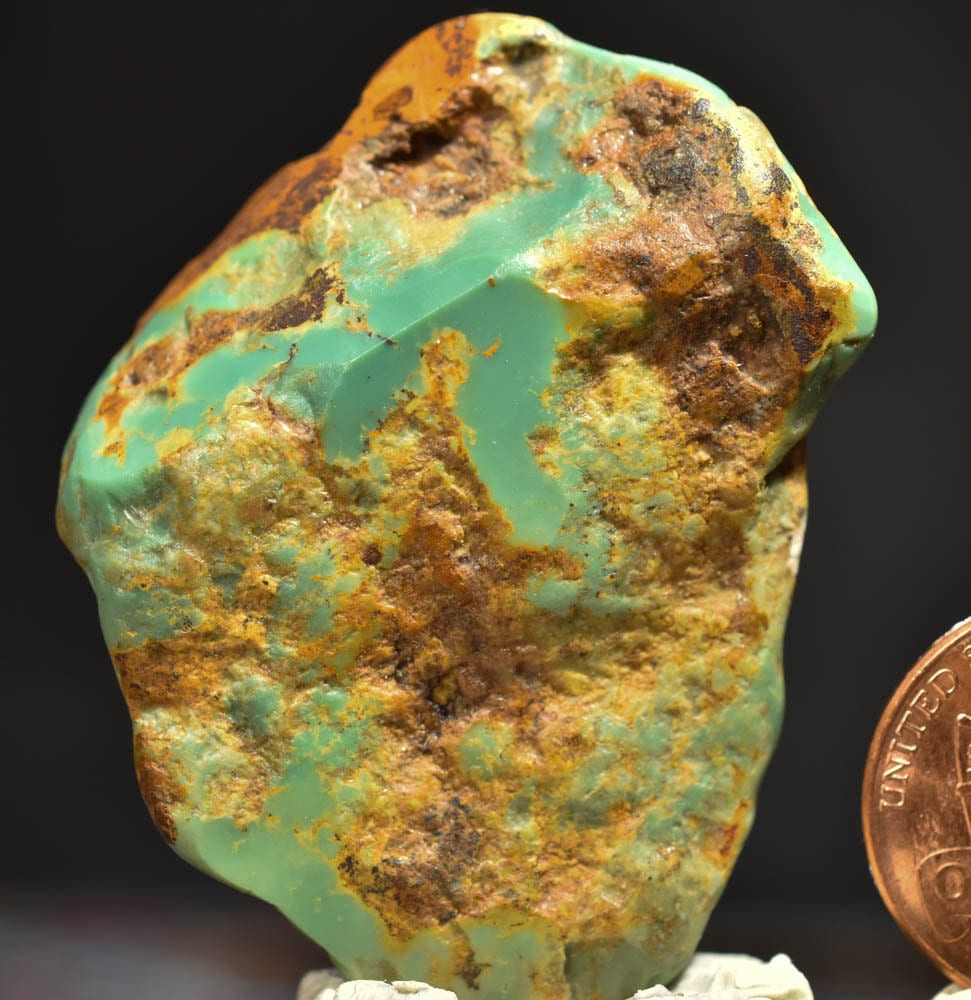 Turquoise Rough China Redskin Turquoise Rough Nugget