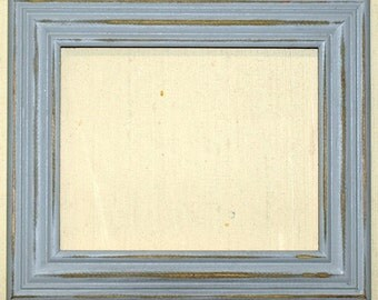 "F003 2"" Gray Distressed Picture Frame"