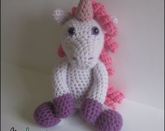 Crochet Pattern - Annabelle the Unicorn