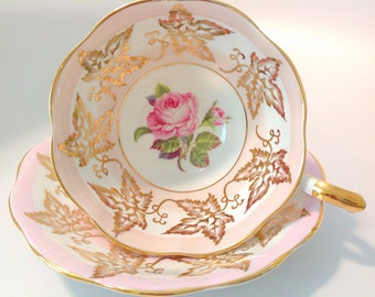 Royal Standard Fine Bone China England Tea Cup and Saucer