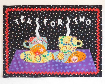 Tea For Two Wall Hanging