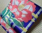 Japanese obi belt purple ...
