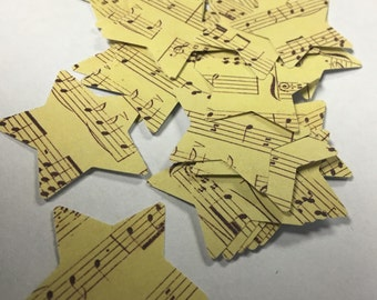 Star Sheet Music Confetti - 305 Pieces