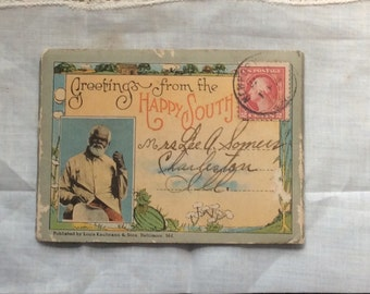 Post card book from the old south