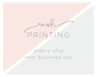 Rush Printing | Orders Ship Next Business Day