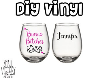 Wine Decal Etsy - Custom vinyl decals for wine glasses