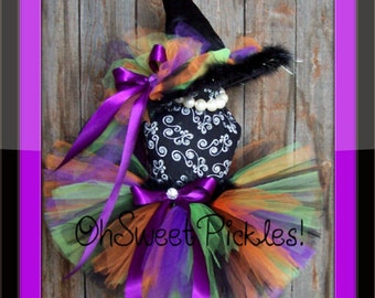 PETUNIA POTION The Wicked Witch -  Halloween Costume - Sizes 0, 3, 6, 9, 12, 18, 24 Months, 2t, 3t, 4t, 5t