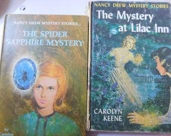 Set of Two Vintage Nancy Drew Books