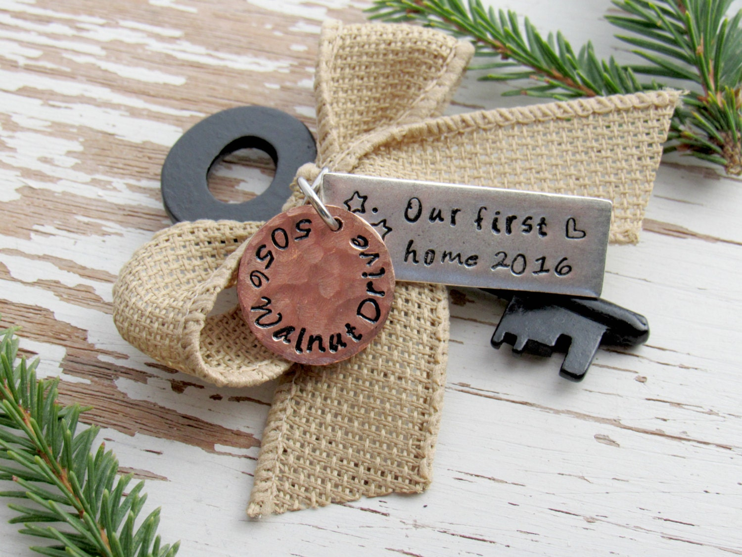 First wedding ornament - Our First Home 2017 Skeleton Key Ornament Personalized Realtor Housewarming New Home