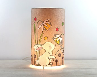 "Lamp bedside or ambiance ""White Rabbit"""