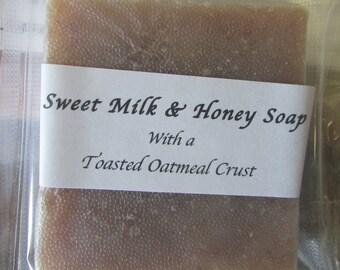 Sweet Milk & Honey Handmade Bar Soap