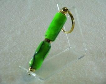 Green Keychain Pen
