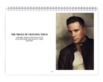 Channing Tatum Vol.1 - 2018 Calendar