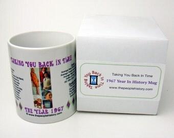 1967 Taking You Back In Time Coffee Mug