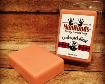 Lumberjack Blend Scented Soap 3 oz. Bar