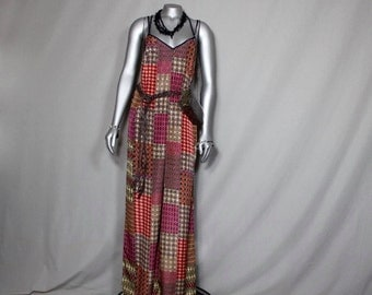 Multi Colored Sensual Jumpsuit Summer Spring Fall Wear