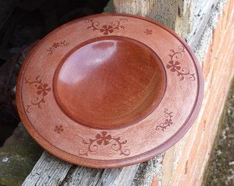 Sapele bowl ~