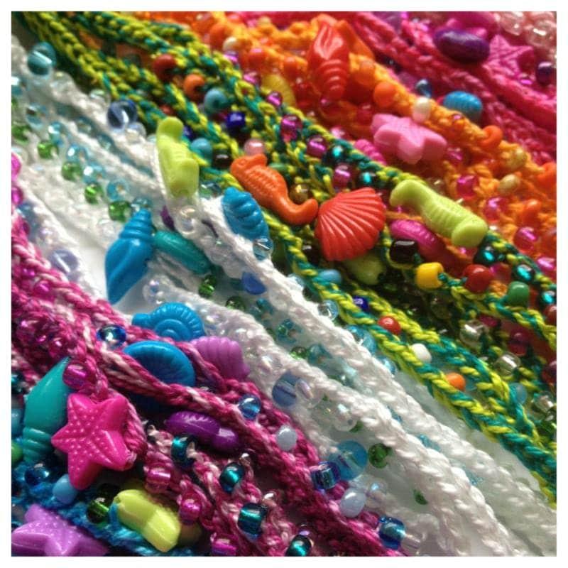 friendship bracelet mermaid costume birthday favor