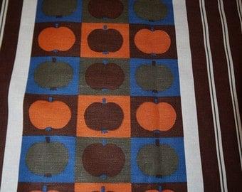 Fabric - 70s - RETRO - Sweden - Scandinavian - Craft - Fun Design