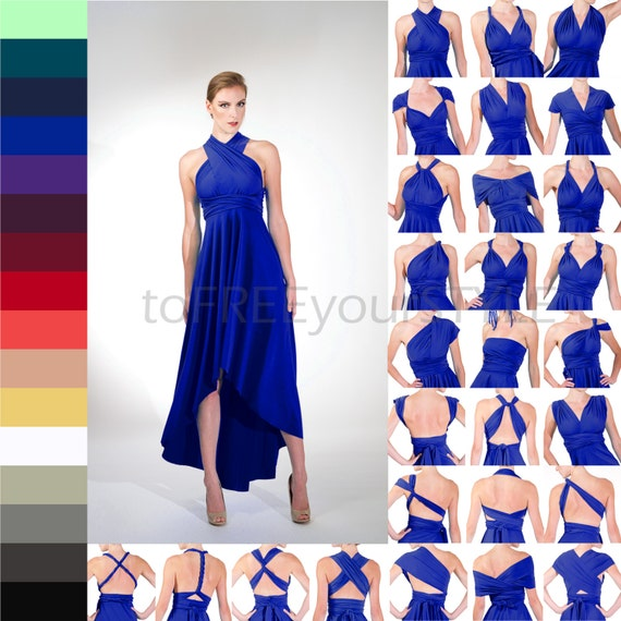 High low infinity dress free style dress convertible for High low wedding dress patterns