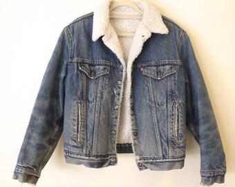 VINTAGE 1970's Denim Levi's Jacket