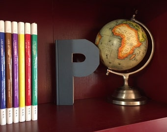 "Letter ""P"" Monogram Book ~ Bookshelf Decor ~ Great gift idea!"