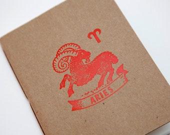 Zodiac Notebook - Aries