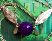 GOING OUT of BUSINESS--40% off Legend of Zelda Tael-inspired fairy necklace