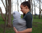 Baby Sling Ring ,Baby Carrier, Sling,Baby Wrap, Baby Sling,Gray,Gift