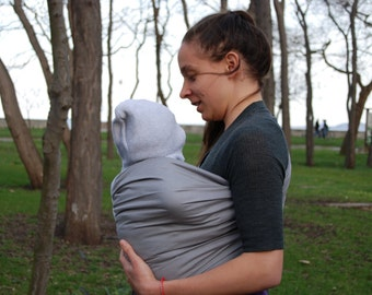 Baby sling, Baby Sling Ring ,Baby Carrier, Sling,Baby Wrap, Baby Sling,Gray,Gift/Affordable Sling!