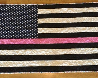 Breast Cancer Awareness Thin Pink Line