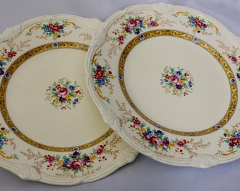 Vintage Grindley of Tunstall England The Beatrice Pattern Dinner/Luncheon Plates