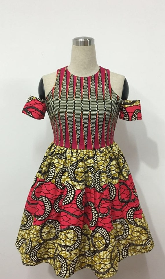 Ginger-African Print Dress