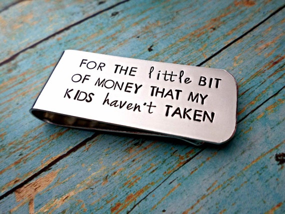 Father's Money Clip, Custom Money Clip, Funny Dad Gift #1 Dad, Fathers Day Gift, Gift for Dad, Gift for Husband, Custom Dad Gift
