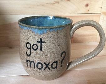Got Moxa? (acupuncture) Mug, 14 ounce
