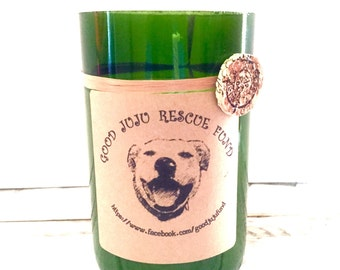 Our Charity of the month candle.. A portion of the proceeds goes to the charity